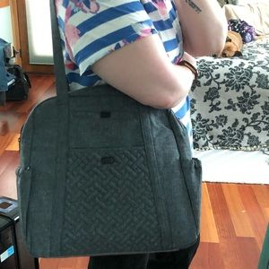 lug Bags - Lug Sprinter - Heather Grey like new!!